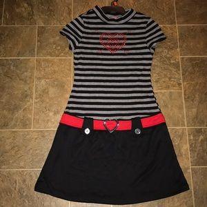Pinky girls dress  polyester/spandex size 14